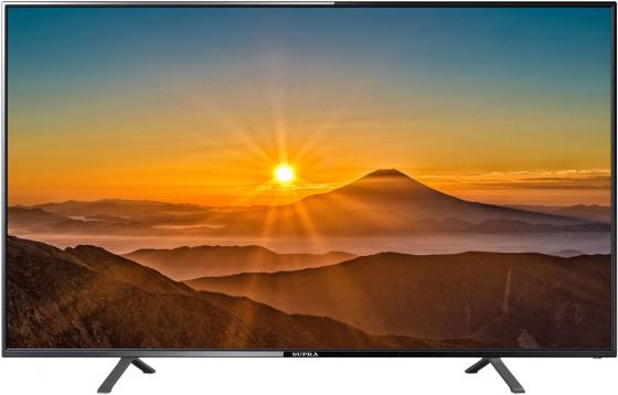 Телевизор LED Supra 65 STV-LC65ST2000U черный/Ultra HD/50Hz/DVB-T2/DVB-C/DVB-S2/USB/WiFi/Smart TV (RUS) телевизор supra stv lc65st2000u