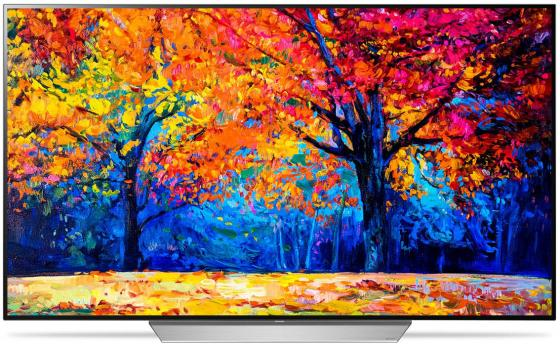 Телевизор OLED LG 65 OLED65C7V черный/серебристый/Ultra HD/50Hz/DVB-T2/DVB-C/DVB-S2/USB/WiFi/Smart TV (RUS)