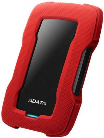 """Жесткий диск A-Data USB 3.0 5Tb AHD330-5TU31-CRD HD330 DashDrive Durable 2.5"""" красный внешний жесткий диск 2 5 1000gb a data ahd330 1tu31 crd usb 3 1 hd336 красный"""