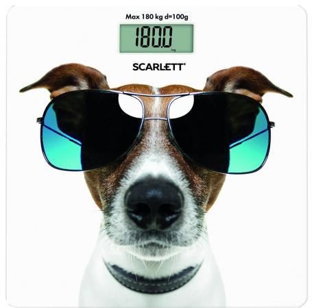 Весы напольные Scarlett SC-BS33E090 рисунок напольные весы scarlett sc bs33e090 до 180кг цвет рисунок [sc bs33e090]