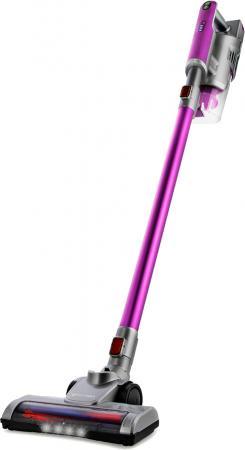Пылесос ручной KITFORT КТ-536-2 сухая уборка фиолетовый серебристый серый цена