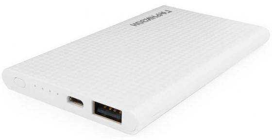 Гарнизон GPB-105W Портативный аккумулятор 5000 мА/ч, 1 USB, 1A, белый kicute new 120 slots large capacity oxford canvas 4 layers school pencil case pencil bag art marker pen holder school supplies