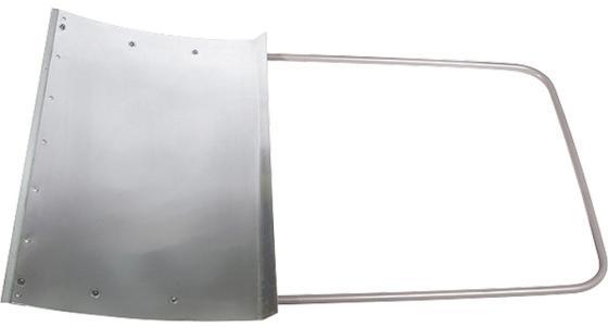 Движок для снега СИБРТЕХРОС 61526 750х460 алюминий движок для снега сибртех алюминиевый усиленный 75 х 42 см