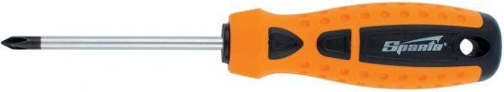 Отвертка SPARTA 11780 point ph2х150мм crv 2-х компонентная рукоятка отвертка sparta point 2 компонентная рукоятка sl6 х 38 мм