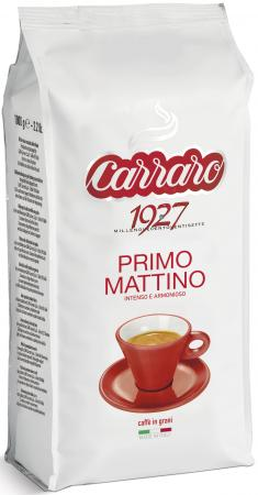 Кофе в зернах Carraro Primo Mattino 1000 грамм кофе зерновой carraro primo mattino