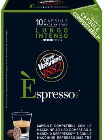Кофе в капсулах Vergnano Espresso: Lungo Intenso блюз эспрессо форте кофе молотый в капсулах 55 г