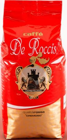 Кофе в зернах De Roccis Rossa 500 грамм de roccis oro кофе в зернах 1 кг