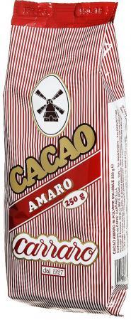 Растворимое какао Carraro Cacao Amaro 250 гр.