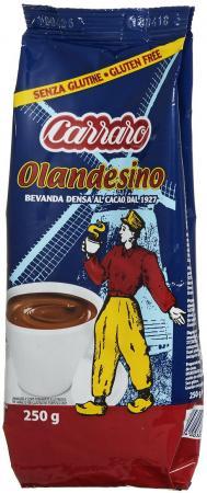 Растворимое какао Carraro Cacao Olandesino 250 гр. monte christo парусник печенье сдобное 400 г