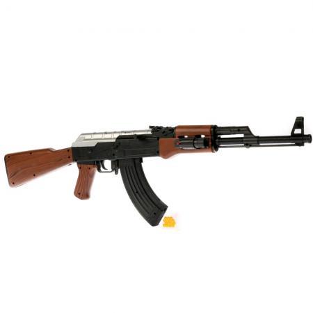 Автомат Shantou Gepai AK-47A черный коричневый 1B02124