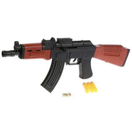 Автомат Shantou Gepai AK-47A черный коричневый 1B02049 автомат трещетка shantou gepai 6927074845006 черный 2820