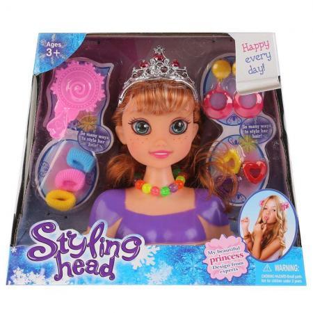 Кукла-манекен для создания причесок, с аксесс. B369 в кор. в кор.2*48шт куклы и одежда для кукол игруша кукла манекен для создания причесок i 353a