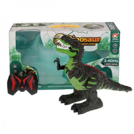 Игрушка динозавр р/у на аккум, свет+звук, usb з/у 666-9A в кор. в кор.2*9шт машина р у на аккум свет звук usb з у цвет в ассорт в кор в кор 2 9шт