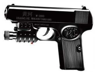 Пистолет Shantou Gepai ПИСТОЛЕТ черный 1B00787