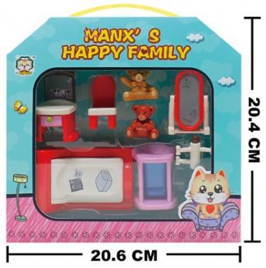 Мебель для кукол HY-034AE в кор. в кор.2*42шт мебель для кукол hy 034ae в кор в кор 2 42шт