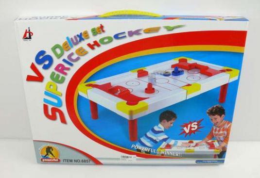 Настольная игра Shantou Аэрохоккей B971078 настольная игра bondibon аэрохоккей улетный гол bb2656