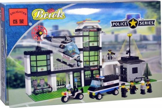 Конструктор ENLIGHTEN BRICK Полицейский участок 430 элементов 110 BRICK110 (16) игровые наборы classic world игровой набор конструктор полицейский участок
