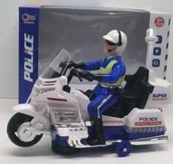 Мотоцикл Shantou Gepai Мотоцикл полиция с фигуркой белый B1607246 мотоцикл хонду f4в спб