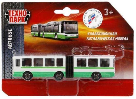 Автобус Технопарк АВТОБУС/ТРОЛЛЕЙБУС С ГАРМОШКОЙ разноцветный