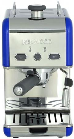 Кофеварка Kenwood ES020BL 1100 Вт синий кофеварка kenwood es020bl