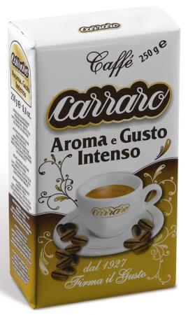 Кофе молотый Carraro Aroma e Gusto Intenso 250 грамм цена