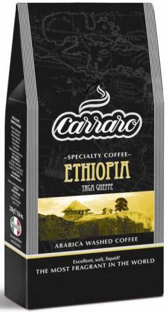 Кофе молотый Carraro Ethiopia 250 грамм first marital dissolution in addis ababa ethiopia