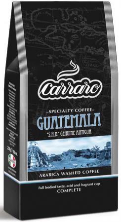 Кофе молотый Carraro Guatemala 250 грамм добойник rennsteig re 4460060 бородки обжимка для заклепочной головки 110x6 16mm 8kt