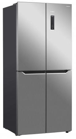 Холодильник TESLER RCD-480I INOX серебристый морозильник tesler rf 90 белый