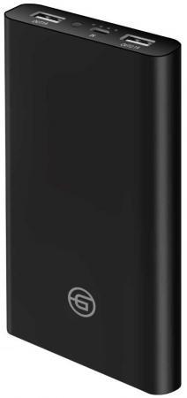 Фото - Внешний аккумулятор Ginzzu GB-3915B, 15,0Ah/5V/2.4A/2USB, черный внешний аккумулятор для