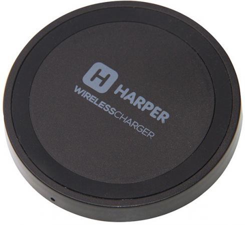 Беспроводное зарядное устройство Harper QCH-2070 0.7 А microUSB черный harper qi беспроводное зарядное устройство для смартфона harper qch 2070 black