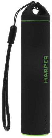 Внешний аккумулятор HARPER PB-2602 Black внешний аккумулятор harper pb 2602 pink