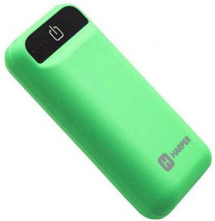 Внешний аккумулятор HARPER PB-2605 Mint, 5000mAh, индикатор уровня заряда стоимость
