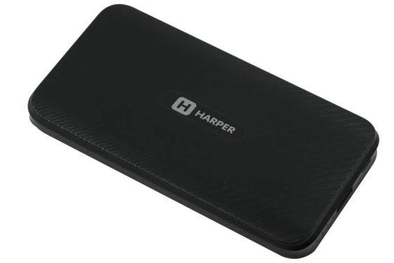 Внешний аккумулятор HARPER PB-10011 black аккумулятор