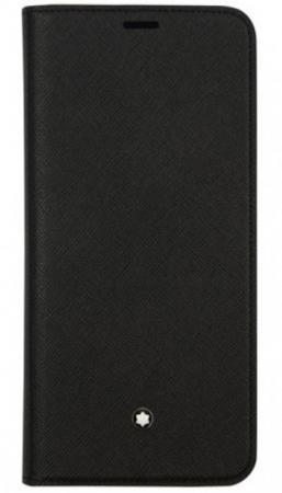 Чехол (флип-кейс) Samsung для Samsung Galaxy S9+ Montblanc Sartorial черный (GP-G965MBCFAAA) чехол клип кейс samsung для samsung galaxy s9 montblanc sartorial черный gp g960mbcpaaa 830497