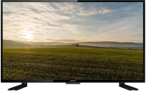 Телевизор 43 Supra STV-LC43ST3000F черный 1920x1080 60 Гц Smart TV Wi-Fi RJ-45 VGA Разьем для наушников S/PDIF Output CI Slot телевизор led 24 fusion fltv 24a100t черный 1366x768 usb hdmi ci slot vga разьем для наушников