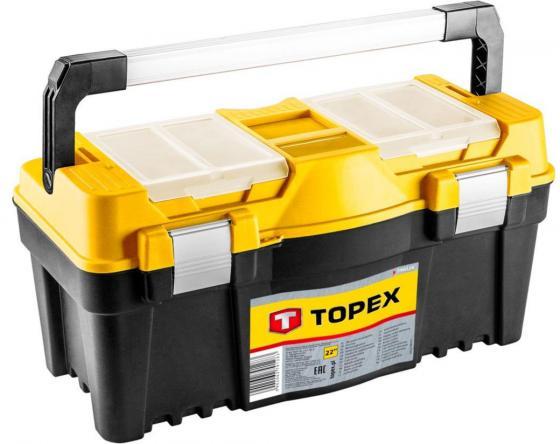 Ящик TOPEX 79R128 для инструмента 22 сумка для инструмента 41x23x23 см topex 79r440
