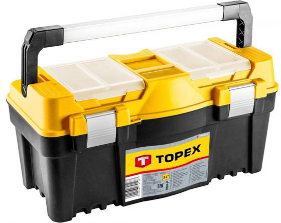 Ящик TOPEX 79R128 для инструмента 22 ящик topex 79r126 для инструмента 22 лоток