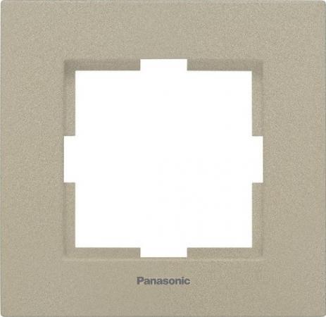 Рамка PANASONIC WKTF0801-2BR-RES Karre Plus 1м бронза стоимость
