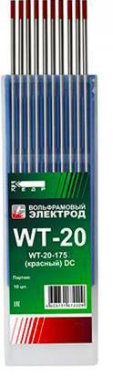 Электроды для сварки Кедр wt-20-175 2.4 мм 7340024