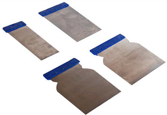 Набор шпателей SANTOOL 020604-400 пластик 4шт. 60-80-100-120мм набор color expert японских шпателей сталь 4шт