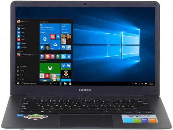 Ноутбук Prestigio SmartBook 141C2 14.1 1920x1080 Intel Celeron-N3350 32 Gb 3Gb Wi-Fi Intel HD Graphics 500 серый Windows 10 планшет prestigio smartbook 116a 11 6 32gb белый wi fi bluetooth windows psb116a03bfpmwcis