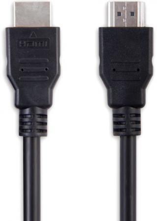 Кабель HDMI 3м Belsis BW1428 круглый черный кабели belsis кабель hdmi hdmi 1 м