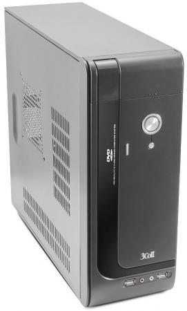 Корпус 3Cott S10 I, mATX desktop 400W (SFX), 2x USB 2.0, Audio, петля для замка , ДхШхВ:350*135*350мм, 2*SATA, 2*MOLEX, 20+4P, P4, 1.2М шнур питания