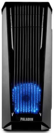 Корпус 3Cott PALADIN III , ATX, без БП, игровой, окно, картридер, 1х USB3.0 + 2х USB2.0, 1х 12см LED вент-р, ДхШхВ: 440*200*460мм