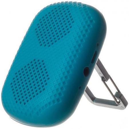 цена на Беспроводная BT-Колонка HARPER PS-041 Blue (Bluetooth/до 7 часов/2 Вт/микрофон)