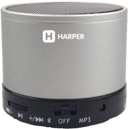 Беспроводная BT-Колонка HARPER PS-012 silver цена