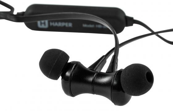 Беспроводная гарнитура HARPER HB-305 black беспроводная гарнитура harper hb 305 silver