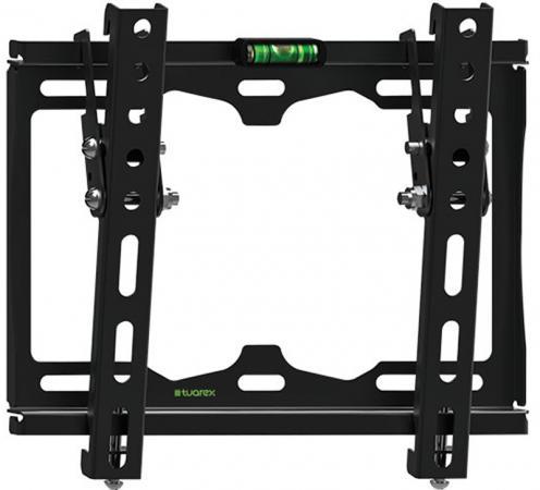 "Кронштейн Tuarex OLIMP-116 black, настенный для TV 15""-48"", от стены 25мм, угол 0-12, макс 35кг, VESA 200x200 цены онлайн"