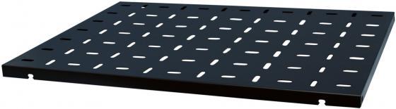 Полка 19, чёрная L=750 мм, перфорированная, NT S750 B