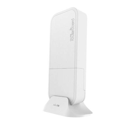 Точка доступа MikroTik RBwAPG-60ad wAP 60G with Phase array 60 degree 60GHz antenna, 802.11ad wireless, 716MHz CPU, 256MB RAM, lx Gigabit LAN, POE, PS ram 399u